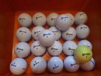 23 mixed srixon golf balls (good condition)