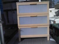 IKEA CHESTER DRAWER - GOOD WORKING CONDITION