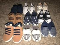 Baby boys shoes various sizes