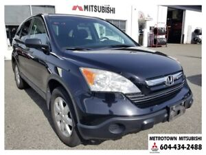 2008 Honda CR-V EX 4WD; Local BC vehicle! LOW KMS! New tires!