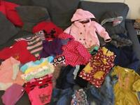Bundle of Girls clothes size 4-5