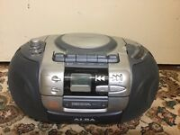 ALBA stereo cd radio and cassette in good condition only £10