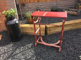 Victorian Cast Iron Taywil Mangle Base / Table Base / Vanity Table- delivery available