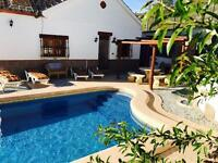 Remote Spanish villa holiday let