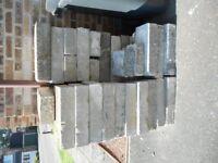 43 x concrete building blocks