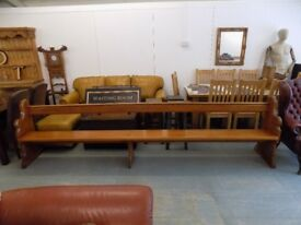 Vintage Old Antique Church Pew *3 Available*