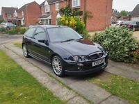 MG ZR 1.8 VVC 160 bhp only 66k miles
