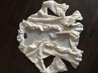 Ralph Lauren white cardigan