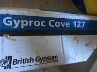 Coving 3m x3 +1 cut Gyproc Cove 127 83mmx83mm
