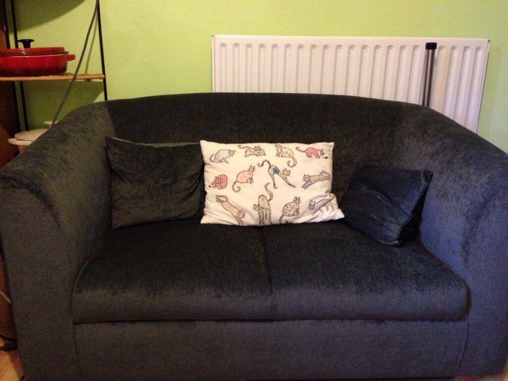 Slate Grey Sofa Hardly Used In Beeston