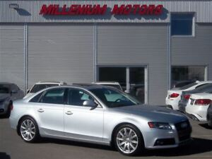 2009 Audi A4 2.0T AWD / PREMIUM / LEATHER / SUNROOF / MUST SEE
