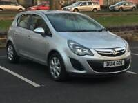 2014 VAUXHALL CORSA 1.4 AUTOMATIC * EXCLUSIVE * 5 DOOR * SERVICE HISTORY *DELIVERY * PX * FINANCE *