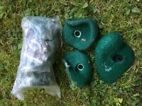 Climbing stones / footholds
