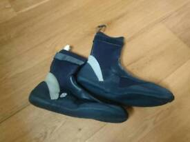 C-Skins Wetsuit Boots Size 11 Surfing Boots