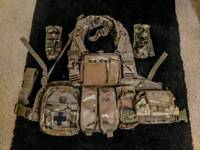 MTP Chest Rig Molle Webbing Templeton/Disciple