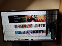 Lg 42 inh led tv cracked screen