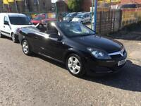 Vauxhall Astra twintop convertible 1.6 09 reg 1 year mot cards accepted