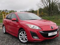 2011 MAZDA 3 SPORT 2.2D 185bhp 2 OWNERS SAT NAV FULL MAZDA SERVICE HISTORY IMMACULATE CONDITION