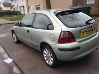 BARGAIN CLEAN ROVER 25 1.4 cc 02 PLATE 40K MOT PX WELCOME