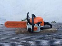 Stihl ms140 chainsaw