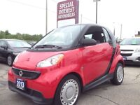 2013 smart fortwo pure ONLY 5000 KMS !! GREAT ON FUEL !!