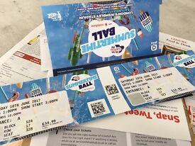 2 x Capital Summertime Ball Tickets
