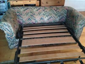 Strong and sturdy bed settee