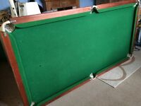 POOL / SNOOKER TABLE 6 X 3