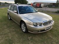04 REG ROVER 75 TOURER 2.0 CDTi CLUB SE 5DR-DIESEL ESTATE-1ST TIME STARTER-DRIVES WELL LOOKS GREAT