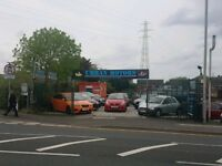 CAR PITCH - YARD - SHOWROOM - INDUSTRIAL UNIT - TO LET RENT