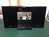 SONY micro system CD, FM Radio