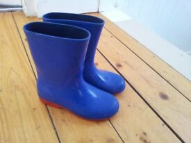 kids Clarks wellies, size 10.5