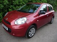 2011 Nissan Micra 1.2 12v Visia 5dr CHEAP ROAD TAX £30 PER YEAR FINANCE AVAILABLE CHEAP USED CARS