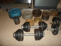 Weights set for sale