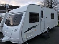 TOP OF THE RANGE 2009 LUNAR LEXON SE 4 BERTH FIXED BED LARGE END