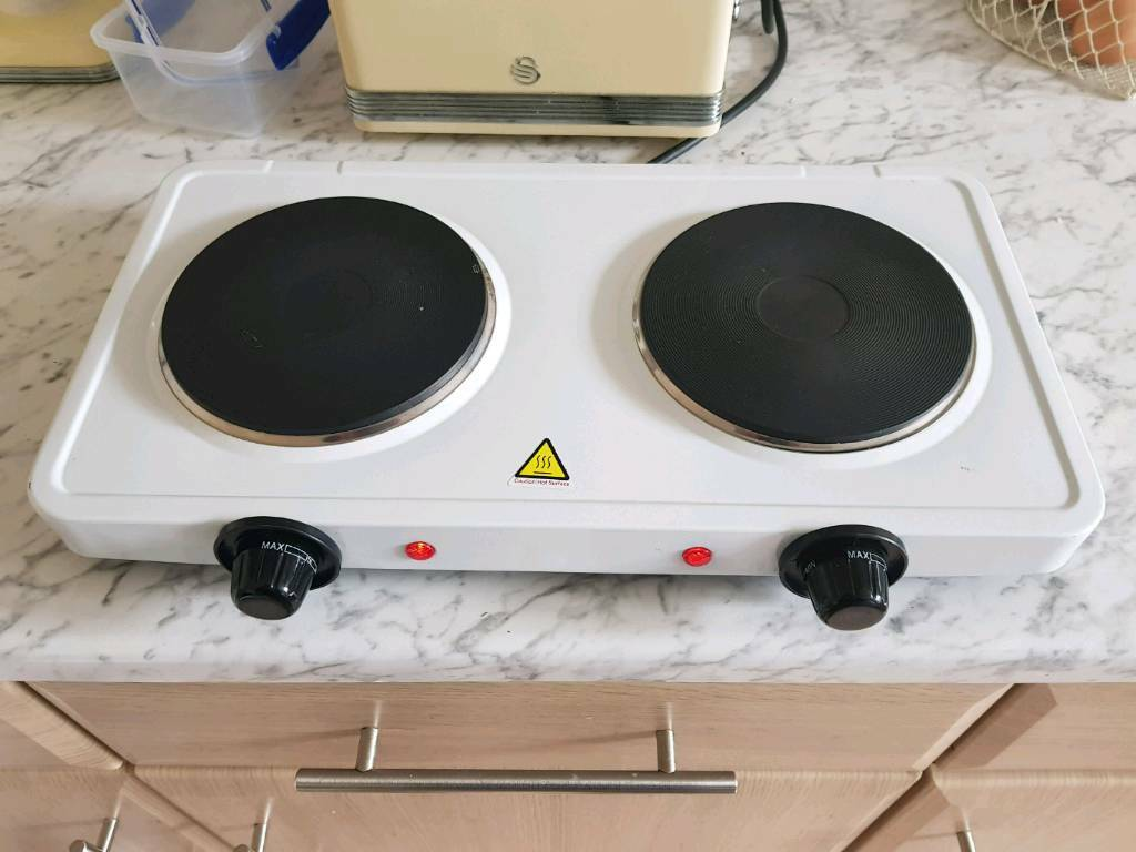 Kampa camping electric double hob and Kampa camping electric flat ...