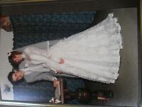 Gorgeous vintage wedding dress-1986