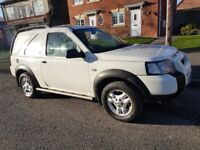 LAND ROVER FREELANDER TD4 CONVERTIBLE WHITE JUST SPENT £1000 ON IT LONG VERY CLEAN MINT MAY PART EX