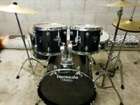 Mapex Tornado Drum Kit inc Hardware & new Cymbals
