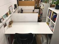 Desk space to let in Hackney Downs Studios for 3+ months from NOW