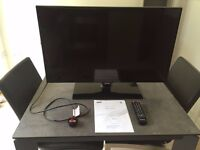 """Samsung series 5 UE32F5000AK 32"""" 1080p HD LED TV excellent condition, as new"""