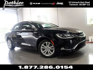 2016 Chrysler 200 Limited   FWD   REAR CAMERA   HEATED SEATS  
