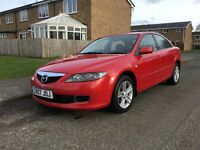 07 MAZDA 6 DIESEL 121K DRIVES GREAT FULL MOT SUPERB COLOUR CHEAP FAMILY CAR