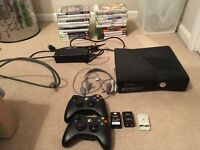 Xbox 360 slimline black. 250gb.