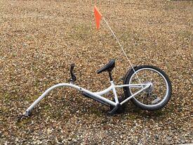 Tag long bicycle