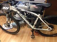 Specialized pitch sport with hydraulic brake and front suppension