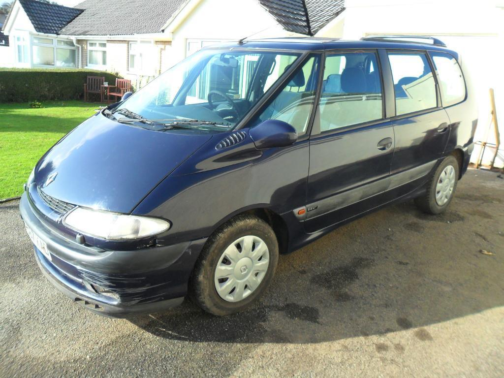 1999 renault espace 2 2 turbo diesel 7 seater spares or repair starts and runs well in. Black Bedroom Furniture Sets. Home Design Ideas