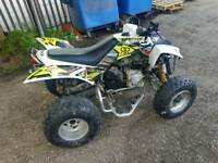 ROAD LEGAL QUADZILLA 320 CVT AUTO NOT RAPTOR APCHE POLLARIS PITBIKE