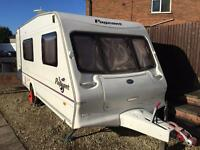 Touring caravan for sale Bailey Pageant 4 berth 2004 motor mover