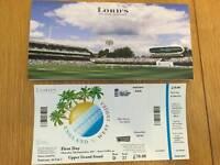England v West Indies ticket